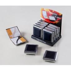 Cigarreira Metal e pele para 20 Cigarros Refª WH200180