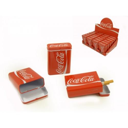 Cigarreira Metálica COCA-COLA Refª AK80304