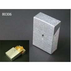 Cigarreira Aluminio Magnética Refª AK80306