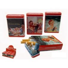 Cigarreira COCA-COLA LADY Refª AK80311