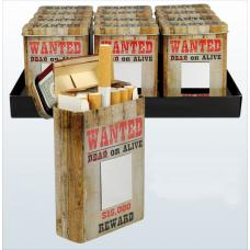 Cigarreira Metálica WANTED Refª GL51126