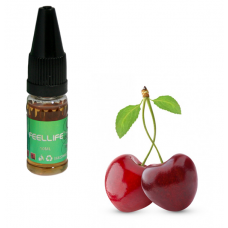 E-Líquido 10ml Feel Life S/ Nicotina- Cherry