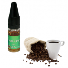 E-Líquido 10ml Feel Life S/ Nicotina- Coffee