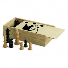 Jogo Xadrez em caixa c/ 23,5x12x6cm Refª JU00464