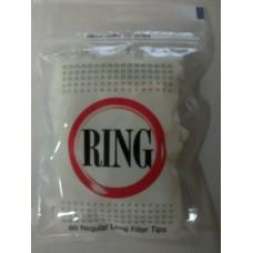 Saco c/ 60 Filtros de 8mm Longo Ring