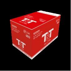 Display c/ 10 sacos c/ 120 Filtros 6mm T&T