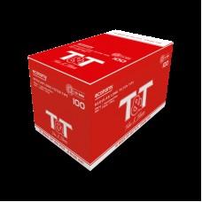 Display c/ 10 sacos c/ 100 Filtros 8mm Longo T&T