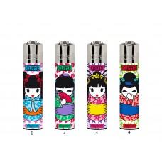 Isqueiro Clipper CP11 Geisha Dolls