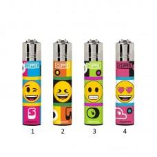 Isqueiro Clipper CP11 Emoji Mix Cool 2