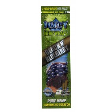Blister c/ 2 Folhas Juicy Hemp Wraps- Blueberry