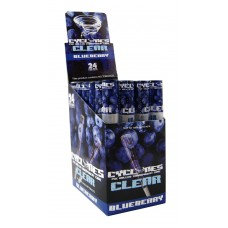 Display c/ 24 Unidades Cyclones Clear- Blueberry