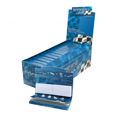 Expositor Papel Fumar Rockies 1.1/4 Set