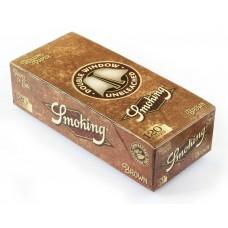 Expositor Papel Smoking Brown Duplo 25