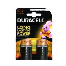 Pilhas Duracell Alcalina C-LR14-BL2