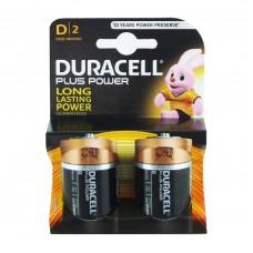 Pilhas Duracell Alcalina D-LR20-BL2