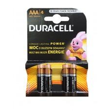Pilhas Duracell Alcalina AAA-LR3-BL4