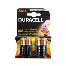 Pilhas Duracell Alcalina AA-LR6-BL4