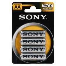 Pilhas Sony Salina-AA-LR6-BL4