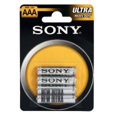 Pilhas Sony Salina-AAA-LR3-B4