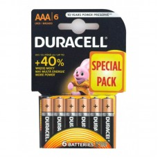 Pilhas Duracell Alcalina AA-LR3-BL6