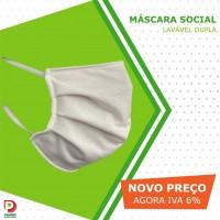 Pack c/ 10 Máscaras Social Lavável Duplas