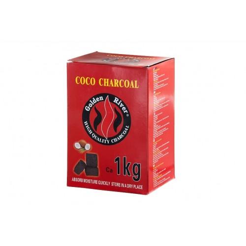 Carvão COCO- Golden River 1kg Refª AK343040