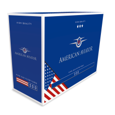 Caixa c/ 500 Tubos AMERICAN AVIATOR