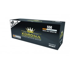 Caixa c/ 550 Tubos Korona