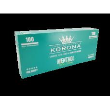 Caixa c/ 100 Tubos Korona Menthol